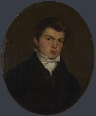 Eugène Delacroix: 'Abel Widmer'