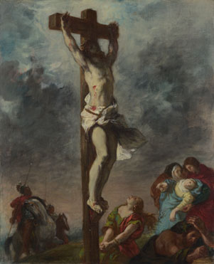 Eugène Delacroix: 'Christ on the Cross'