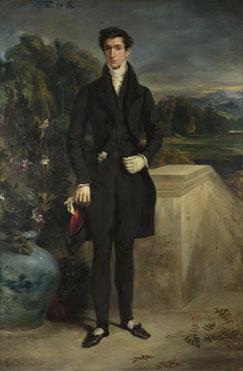 Eugène Delacroix: 'Louis-Auguste Schwiter'