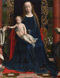 Gerard David, The Virgin and Child with Saints and Donor