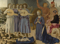 Piero della Francesca 'The Nativity'