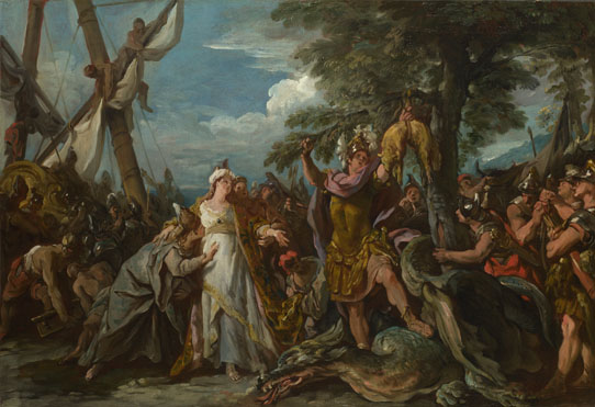 Jean-François Detroy: 'The Capture of the Golden Fleece'