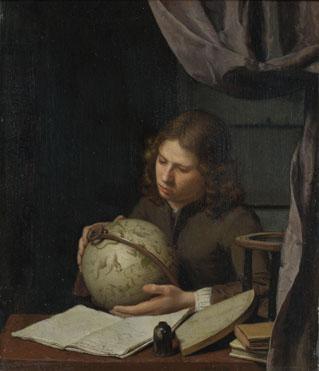 Olivier van Deuren: 'A Young Astronomer'