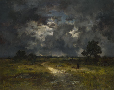 Narcisse-Virgilio Diaz de la Peña: 'The Storm'