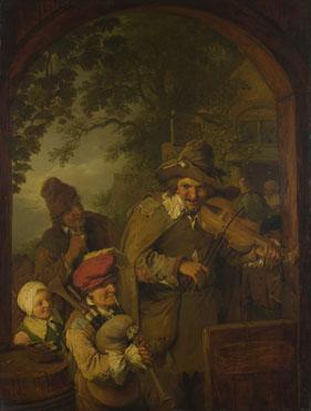 Christian Wilhelm Ernst Dietrich: 'The Wandering Musicians'