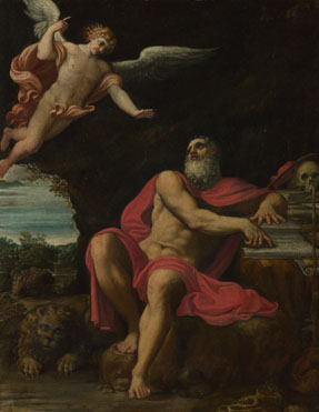 Domenichino: 'The Vision of Saint Jerome'
