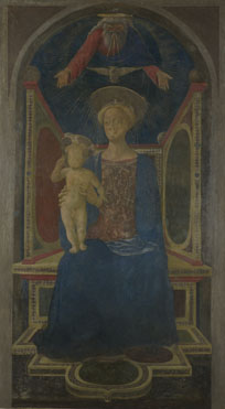 Domenico Veneziano: 'The Virgin and Child Enthroned'