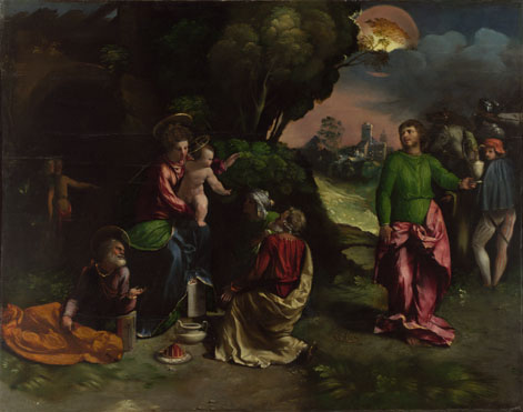 Dosso Dossi: 'The Adoration of the Kings'