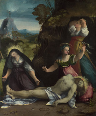 Dosso Dossi: 'Lamentation over the Body of Christ'