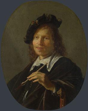 Gerrit Dou: 'Portrait of a Man'