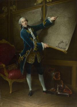 François-Hubert Drouais: 'Le Comte de Vaudreuil'