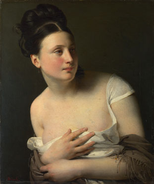 Claude-Marie Dubufe: 'The Surprise'