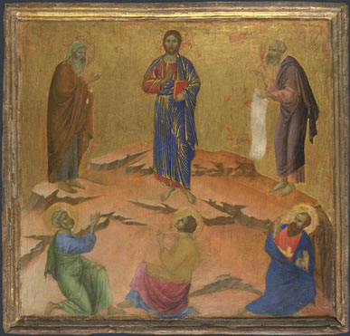 Duccio: 'The Transfiguration'
