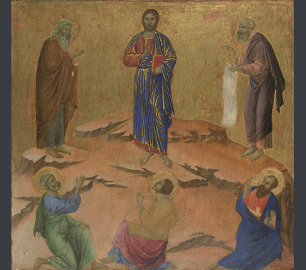 Duccio: 'The Transfiguration'.