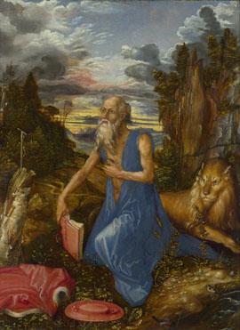 Albrecht Dürer: 'Saint Jerome'