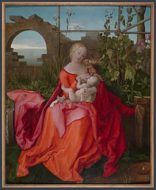Workshop of Albrecht Dürer: 'The Virgin and Child ('The Madonna with the Iris')'