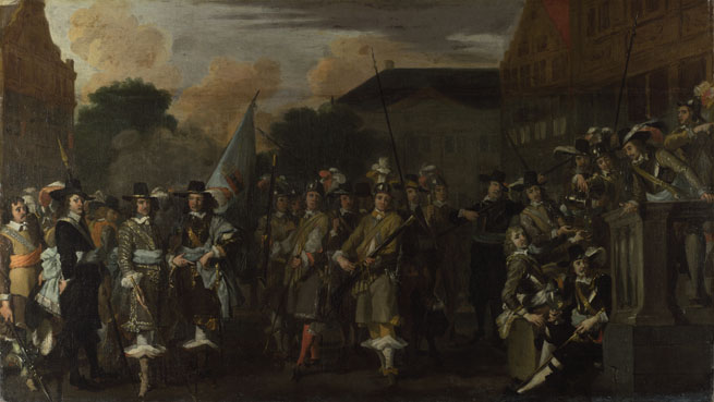 Dutch: 'A Company of Amsterdam Militiamen'