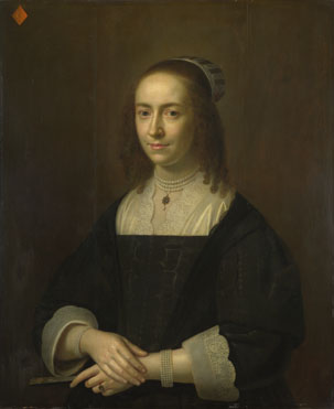 Dutch: 'Portrait of a Lady with a Fan'