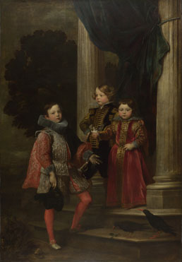 Anthony van Dyck: 'The Balbi Children'