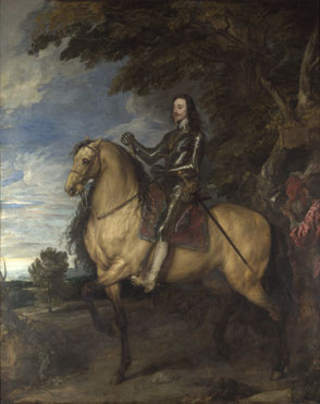 Anthony van Dyck: 'Equestrian Portrait of Charles I'