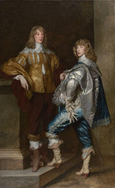 Anthony van Dyck: 'Lord John Stuart and his Brother, Lord Bernard Stuart'