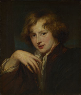 After Anthony van Dyck: 'Portrait of the Artist'