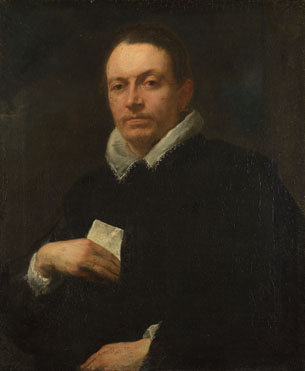 Anthony van Dyck: 'Portrait of Giovanni Battista Cattaneo'