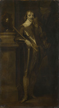 After Anthony van Dyck: 'Portrait of Robert Rich, 2nd Earl of Warwick'