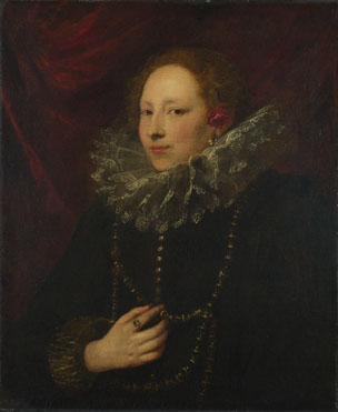 Anthony van Dyck: 'Portrait of a Woman'
