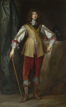 Studio of Anthony van Dyck: 'Prince Rupert, Count Palatine'