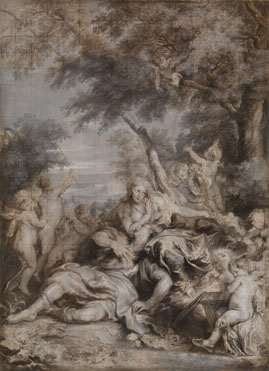 Anthony van Dyck: 'Rinaldo conquered by Love for Armida'