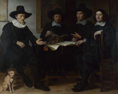 Gerbrand van den Eeckhout: 'Group Portrait'