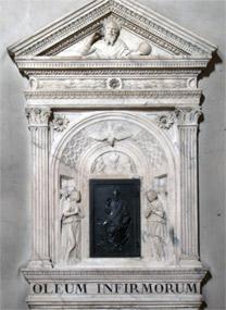 Bernardo Rossellino: Eucharist tabernacle.