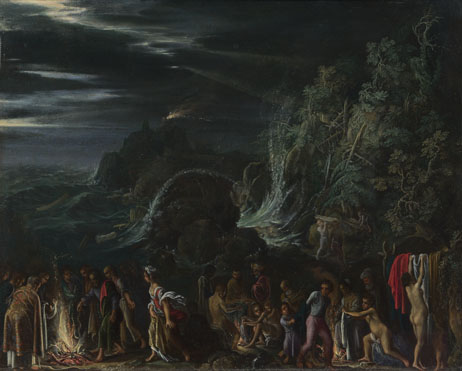 Adam Elsheimer: 'Saint Paul on Malta'