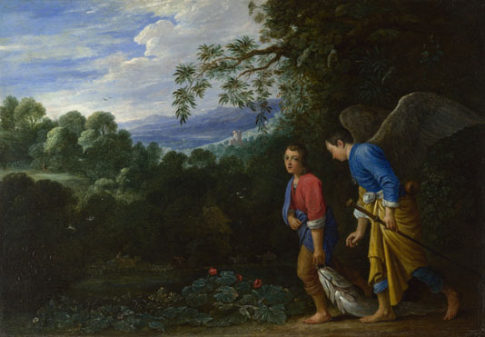 After Adam Elsheimer: 'Tobias and the Archangel Raphael'