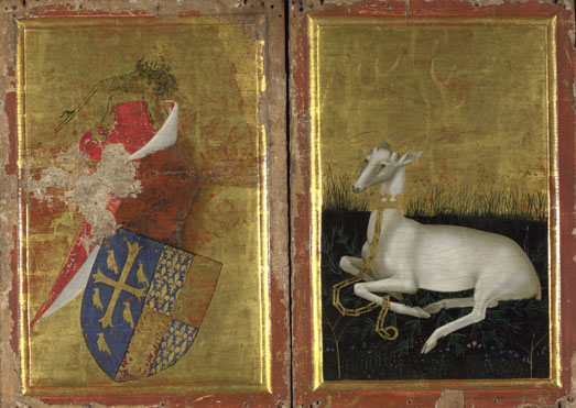 English or French (?): 'The Wilton Diptych'