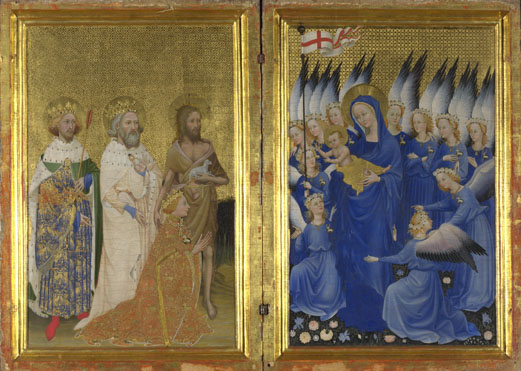 English or French (?), The Wilton Diptych