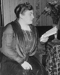 Portrait of Elena Gerhardt