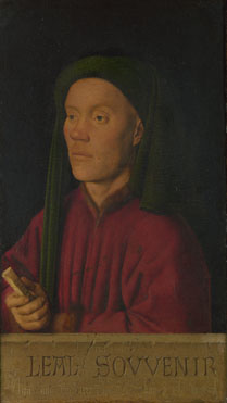 Jan van Eyck: 'Portrait of a Man ('Léal Souvenir')'