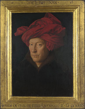 Jan van Eyck: 'Portrait of a Man (Self Portrait?)'