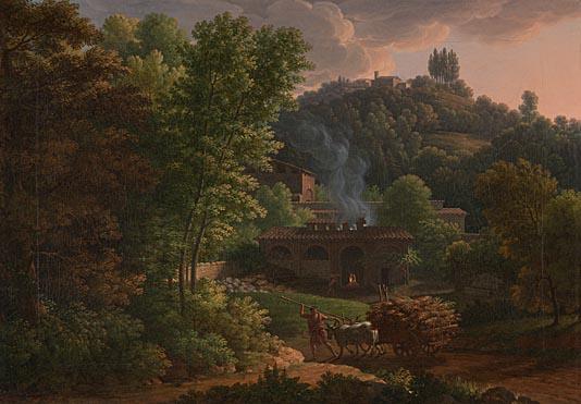 François-Xavier Fabre: 'Italian Landscape'