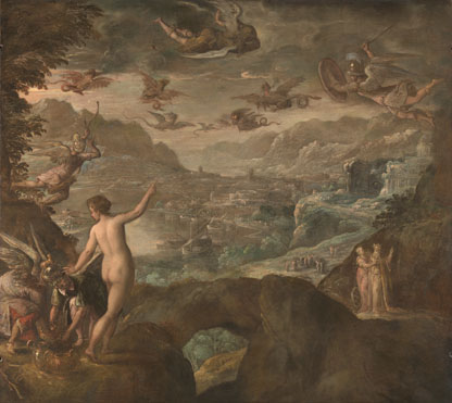 Paolo Fiammingo: 'The Sons of Boreas pursuing the Harpies'