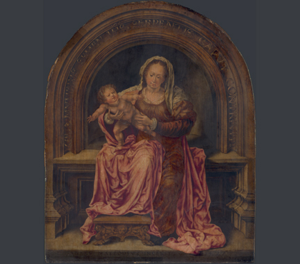 Jan Gossaert, 'The Virgin and Child'