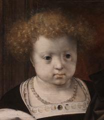 Detail from: Jan Gossaert: 'A Young Princess'