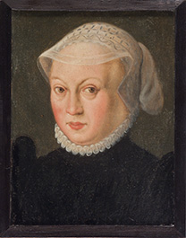 fig.28 Copy after a German portrait of c.1570, 'Dorothea of Denmark'