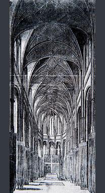 J.P. Van Bauerscheit, Vue Interieure de la Chapelle du Palais