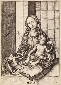 Schongauer, Virgin and Parrot