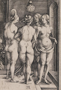 Albert Durer, Four Witches