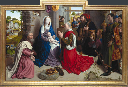 Hugo van der Goes, Monforte Altarpiece