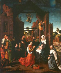 Jan Gossaert, 'The Adoration of the Kings'